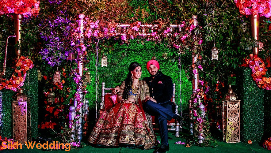 Sikh Wedding Decoration With The Latest Trends To Make It Colorful